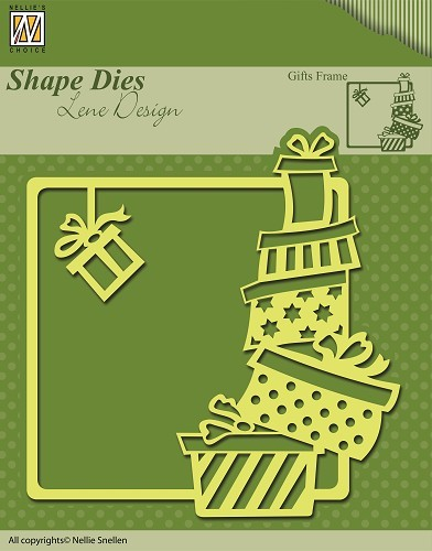 SDL006 Shape Dies Christmas Gifts frame