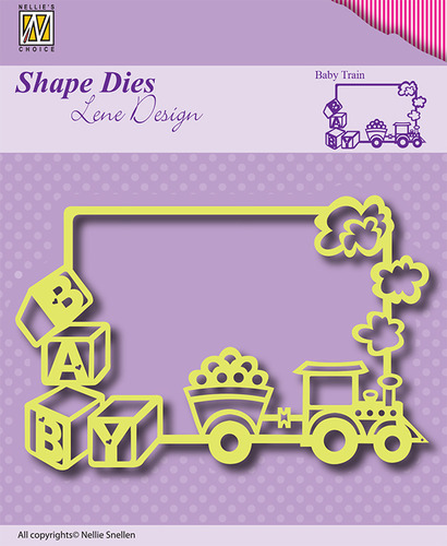 SDL011 Shape Dies Frame Baby-train