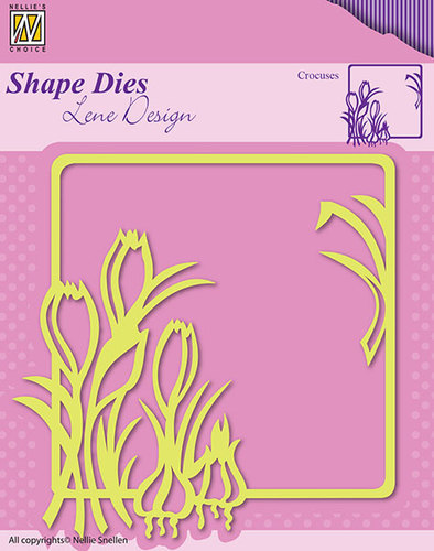 SDL016 Shape Dies Spring flowers crocuses