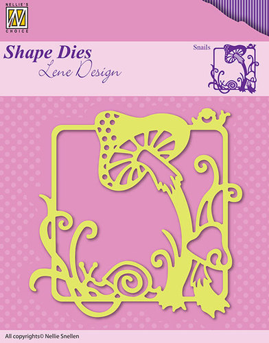 SDL019 Shape Dies Summer snails