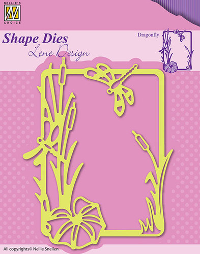 SDL020 Shape Dies Summer dragonfly