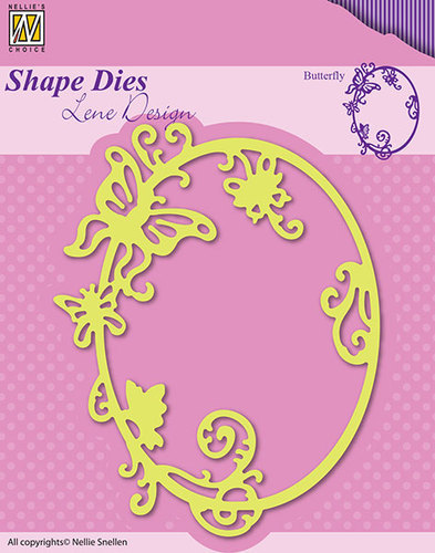 SDL022 Shape Dies Summer butterfly