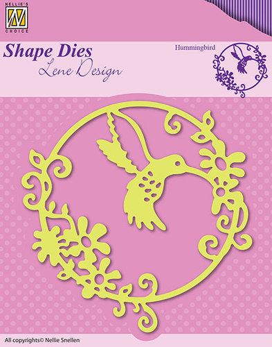 SDL023 Shape Dies Summer hummingbird