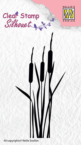 SIL002 Silhouette clear stamps bulrushes