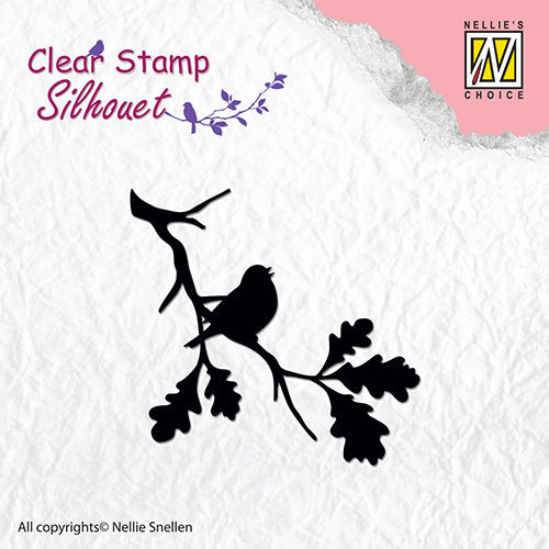 SIL006 Silhouette clear stamps birdsong-2