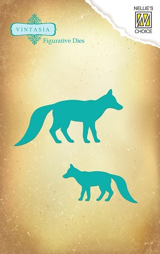 VIND017 Dies Vintasia animals foxes