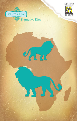 VIND033 Vintasia Die Big-Five serie African Lion