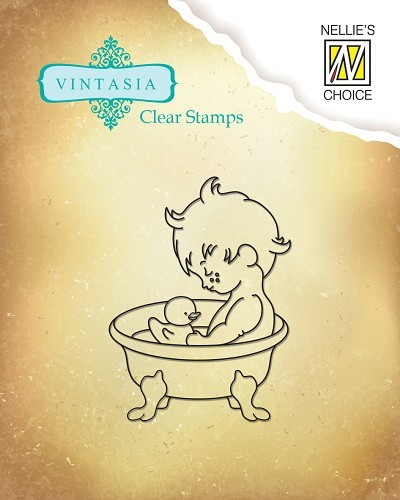 VINS001 Clear stamps Vintasia Sweet Home