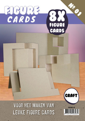 FGCS001-45 Figure Cards 1 - Craft