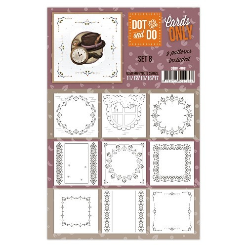 CODO008 Dot & Do - Cards Only - Set 8