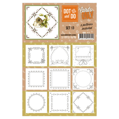 CODO013 Dot & Do - Cards Only - Set 13