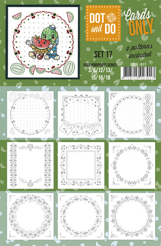 CODO017 Dot & Do - Cards Only - Set 17