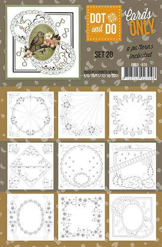 CODO020 Dot & Do - Cards Only - Set 20