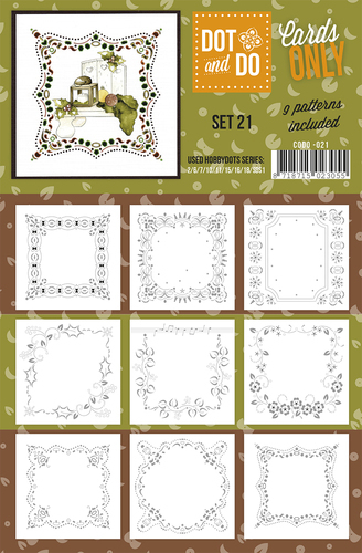 CODO021 Dot & Do - Cards Only - Set 21