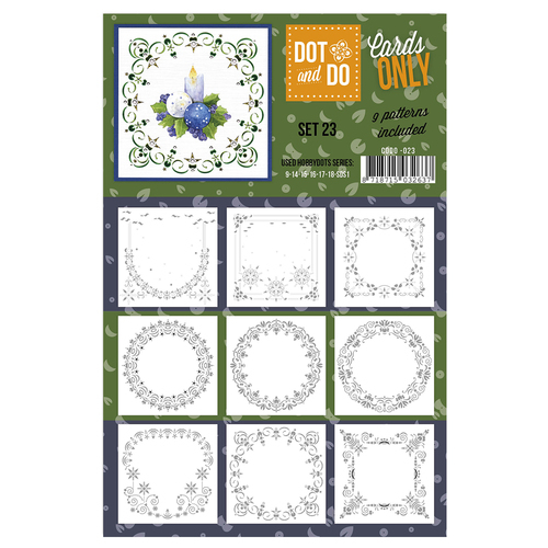 CODO023 Dot & Do - Cards Only - Set 23