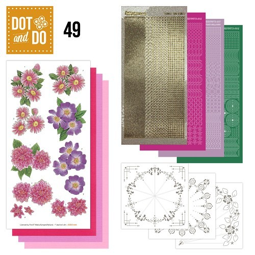 DODO049 Dot and Do 49 - Roze Bloemen