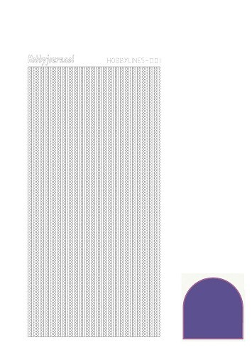 HLM016 Hobbylines sticker - Mirror Violet