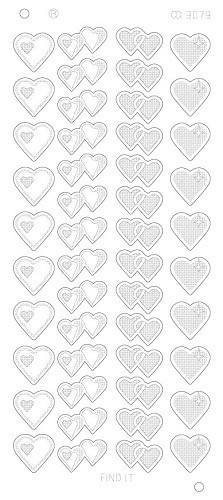Hearts Various Platinum - Goud
