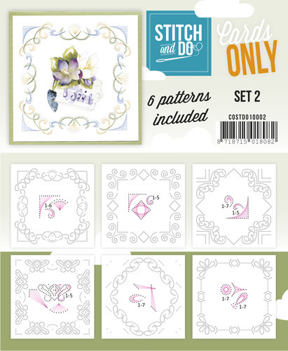 Stitch & Do - Cards only - Set 2
