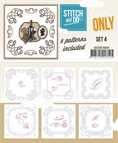 Stitch & Do - Cards only - Set 4