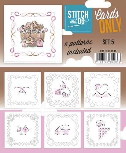 COSTDO10005 Stitch & Do - Cards only - Set 5