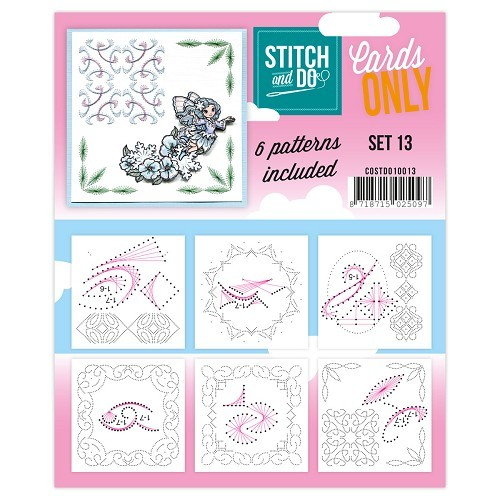 COSTDO10013 Stitch & Do - Cards only - Set 13