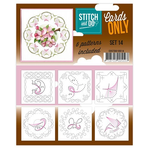 COSTDO10014 Stitch & Do - Cards only - Set 14