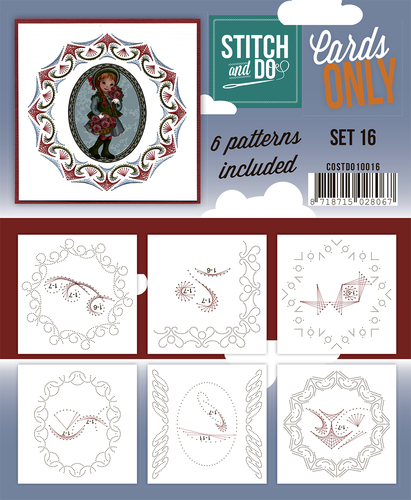 COSTDO10016 Stitch & Do - Cards only - Set 16