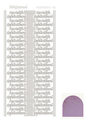 STDMHG03 Hobbydots sticker - Mirror - Candy