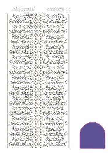 STDMHG06 Hobbydots sticker - Mirror - Purple