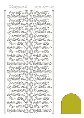 STDMHG0E Hobbydots sticker - Mirror - Yellow
