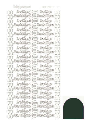 STDMPFJ Hobbydots sticker - Mirror - Christmas Green