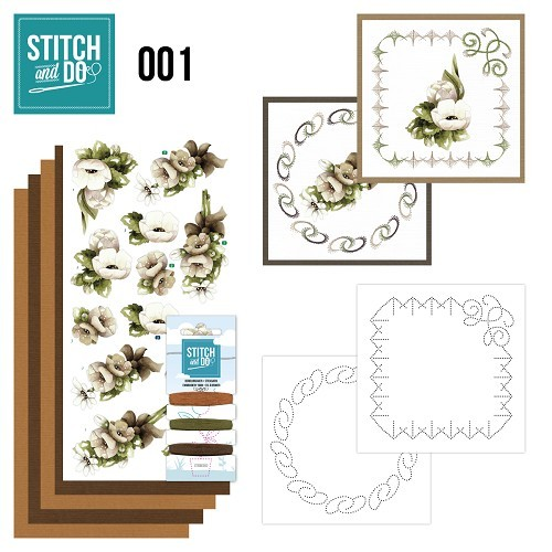 STDO001 Stitch and Do 1 - Bloemen