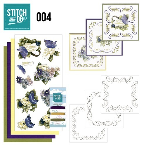 STDO004 Stitch and Do 4 - Voorjaarsbloemen