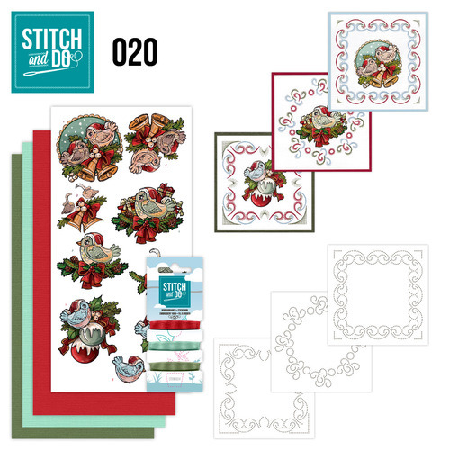 STDO020 Stitch and Do 20 - Christmas Tweety
