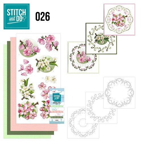 STDO026 Stitch and Do 26 - Spring Flowers