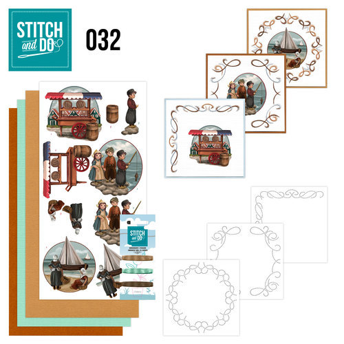 STDO032 Stitch and Do 32 - Oud Hollands