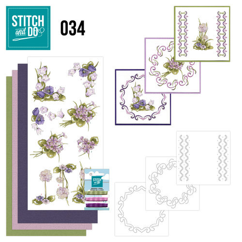 STDO034 Stitch and Do 34 - Field flowers