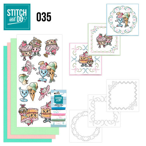 STDO035 Stitch and Do 35 - Cupcakes