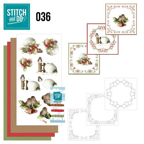 STDO036 Stitch and Do 36 - Kerstversieringen