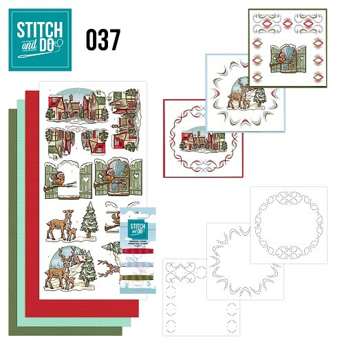 STDO037 Stitch and Do 37 - Kerstversieringen