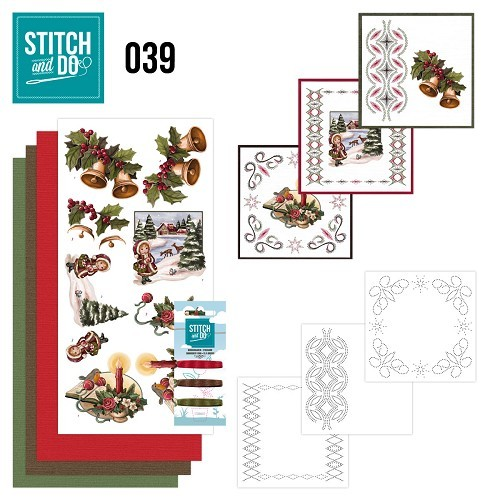 STDO039 Stitch and Do 39 - Christmas Greetings