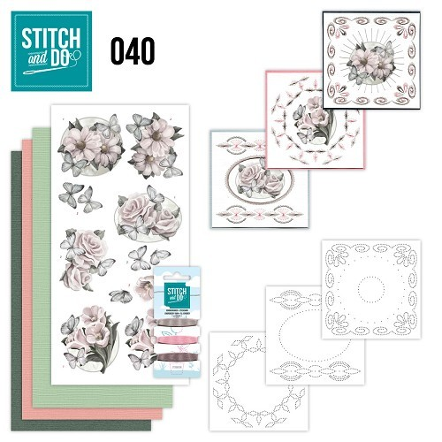 STDO040 Stitch and Do 40 - Condoleance