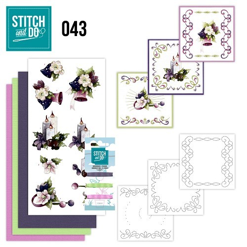 STDO043 Stitch and Do 43 - Purple Colored Christmas