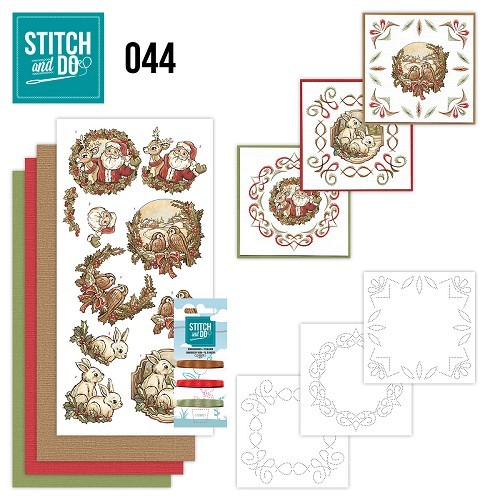 STDO044 Stitch and Do 44 - Holly Jolly mix