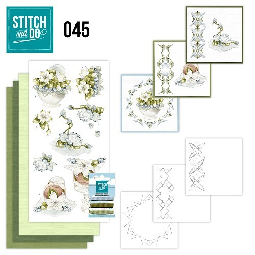 STDO045 Stitch and Do 45 - Winterflowers
