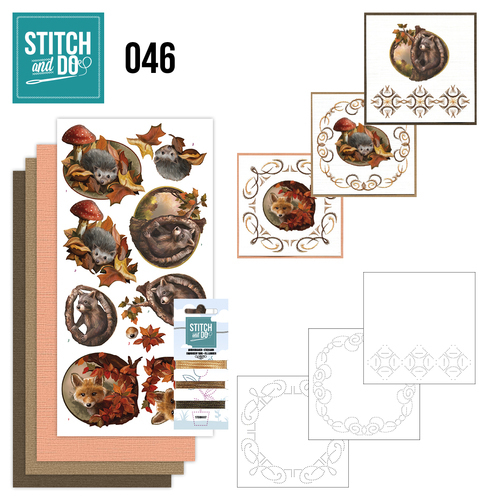 STDO045 Stitch and Do 46 - Autumn