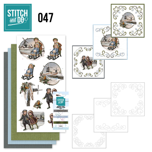 STDO047 Stitch and Do 47 - Winterglow
