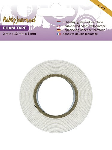 Hobbyjournaal - Foam tape - 1 mm