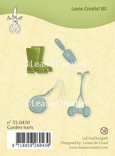 55.0430 Clear stamp Garden tools